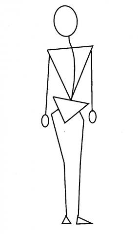 人体変形モデル