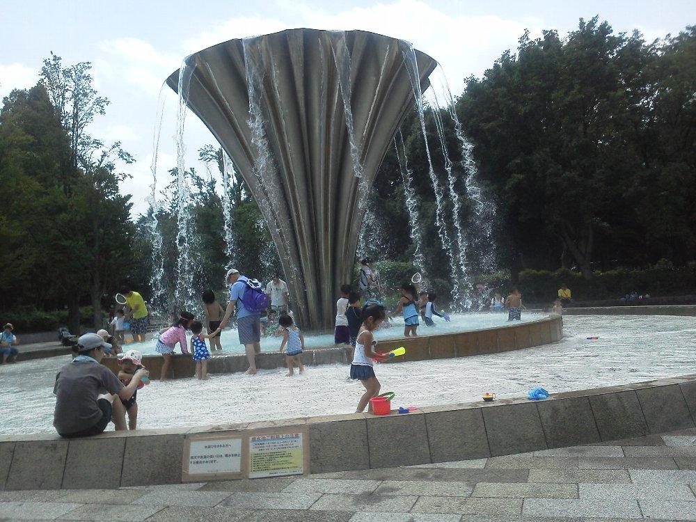 F1000375都立赤塚公園水遊び