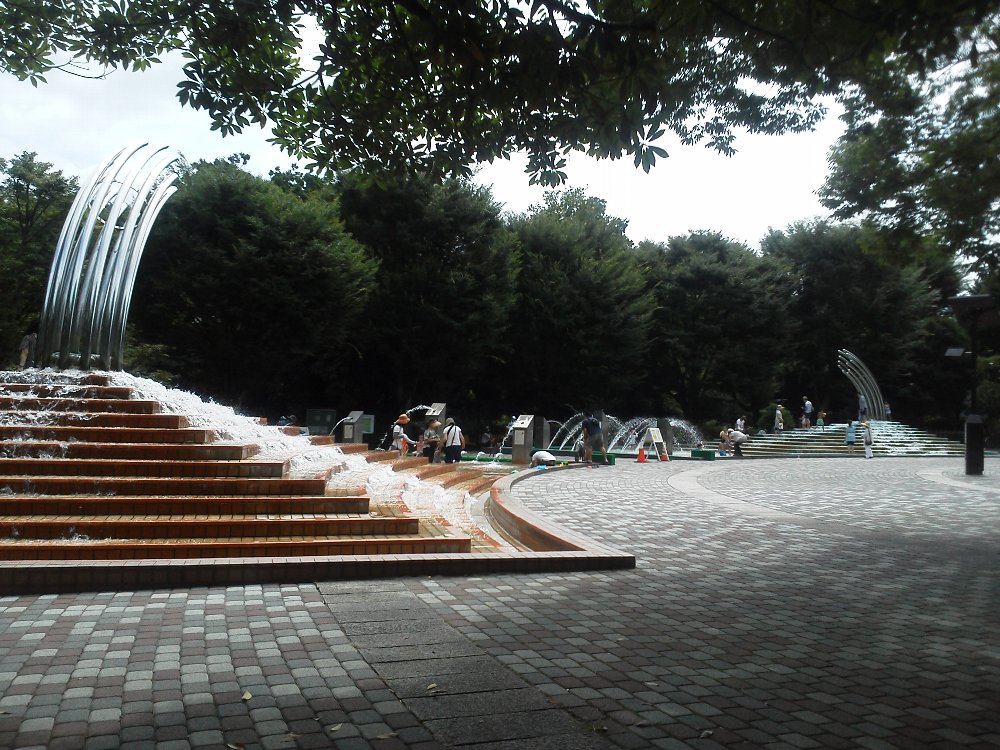 F1000376大泉中央公園水遊び