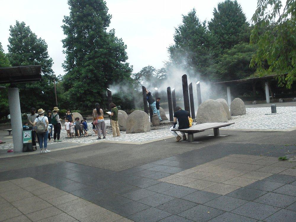 F1000167都立武蔵国分寺公園ミスト噴水