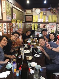 ★2016ざん&Kaja打ち上げ