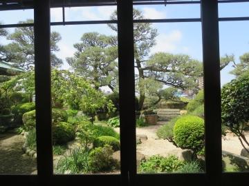 硝子越しの庭園