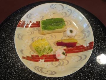 豆腐の田楽木の芽味噌など