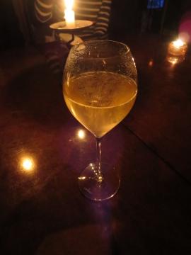 先ずはシャンパンで乾杯