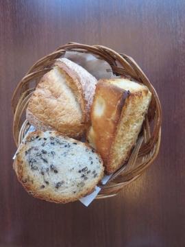パン3種盛 300円