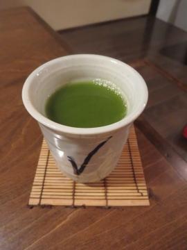 濃いめの粉茶
