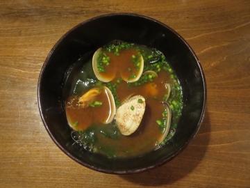 姪浜・アサリの赤出汁
