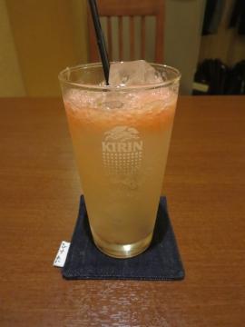 チューハイ・生搾りピンクグレープフルーツ 520円