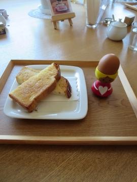 バタートーストセット 500円