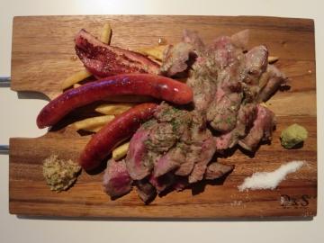 イッチ特製肉盛り 1980円