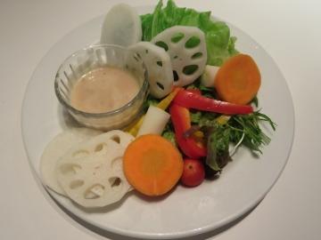 新鮮野菜のバーニャカウダ 1080円