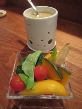 バーニャカウダ野菜 800円