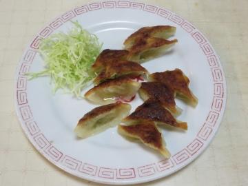 焼餃子(一人前・十個) 350円