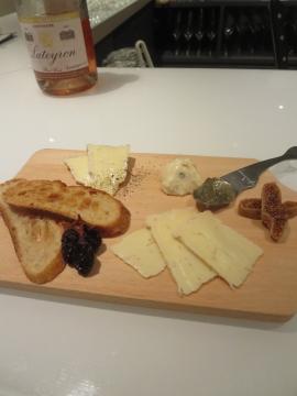 チーズ3種 1200円