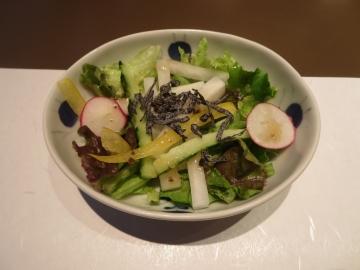 季節のサラダ