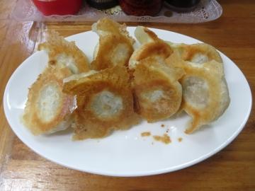 焼餃子(8ケ) 500円