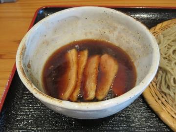 フランス産鴨肉と長ねぎの付け汁