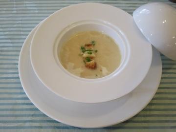 パルマンティエ(ジャガイモ)のスープ