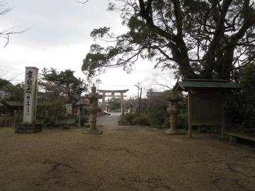 高倉神社へ