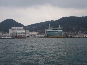 遊覧船からの景色 (4)