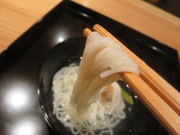 素麺たっぷりの小鯛素麺