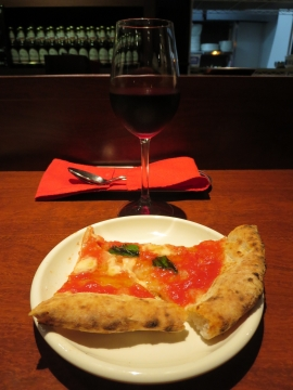 マルゲリータと赤ワイン