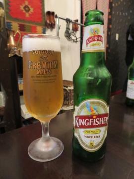 インドビール(kingfisher) 700円