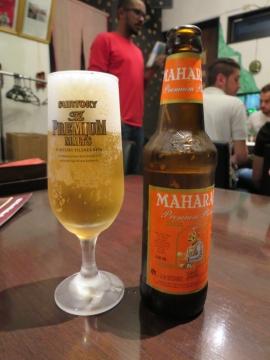 インドビール(MAHARAJA) 600円