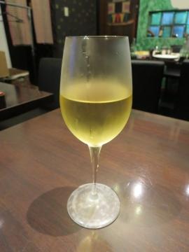 ワイン(白)グラス 500円