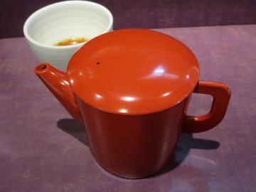 サラサラの蕎麦湯