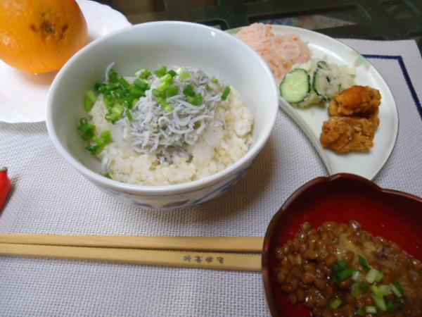 4/10 家食・シラス丼