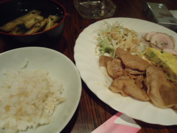 7/20 ○○・スタミナ定食