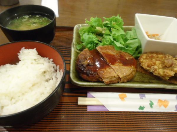 7/27 マイ・サニー・ハンバーグ&鶏カラ