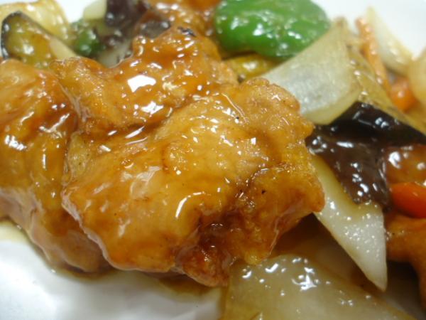 10/2 十八番・酢豚定食
