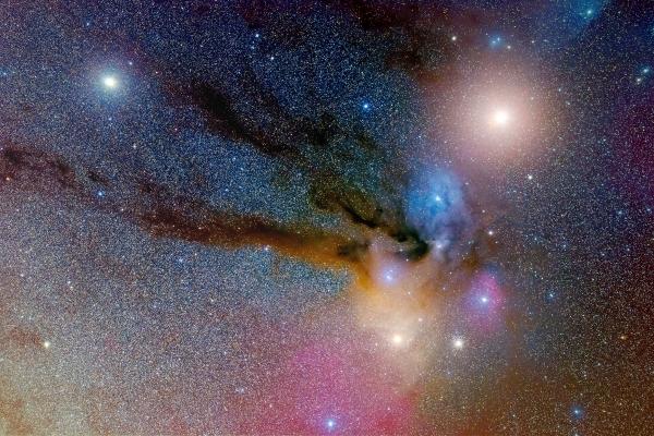 火星・土星のいるさそり座頭部6