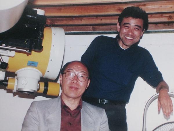 1995頃_大石先生と_大平観測所
