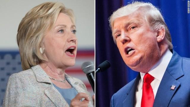 トランプとクリントン