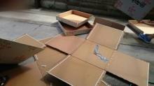 座布団の箱、解体