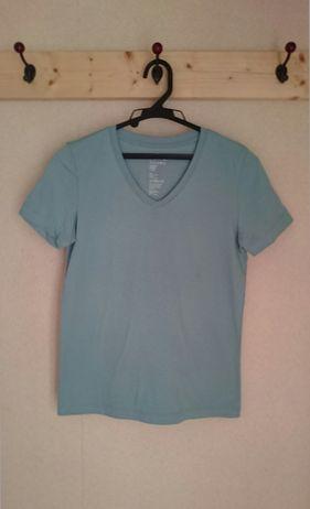無印良品オーガニックコットンvネックTシャツ