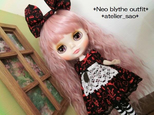 ネオブライス服◆赤と黒のアリス1