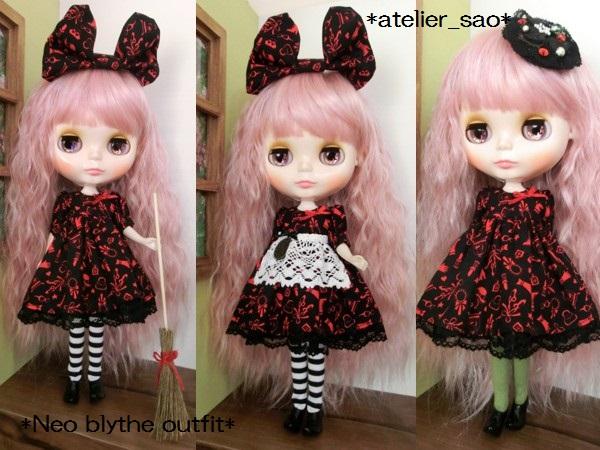 ネオブライス服◆赤と黒のアリス2