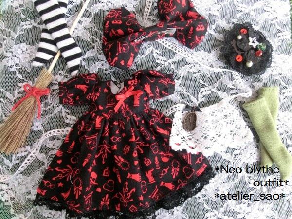 ネオブライス服◆赤と黒のアリス3