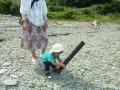浜辺の遊び1