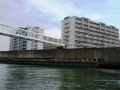 神埼川の防潮堤工事2