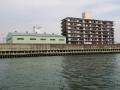 神埼川の防潮堤工事3