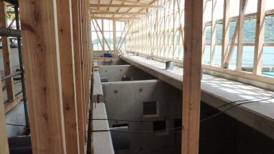 アワビ養殖施設 建設中7