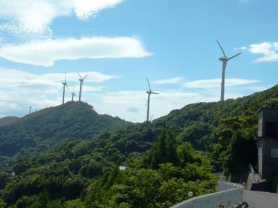 佐田岬半島の風車1