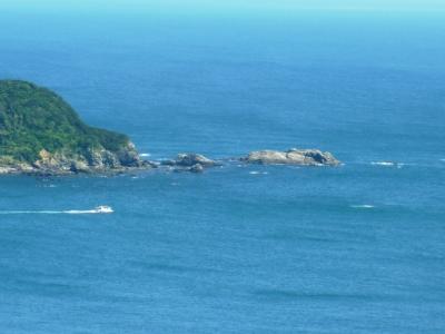 佐田岬半島の漁船出漁4
