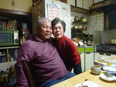 桝田家両親