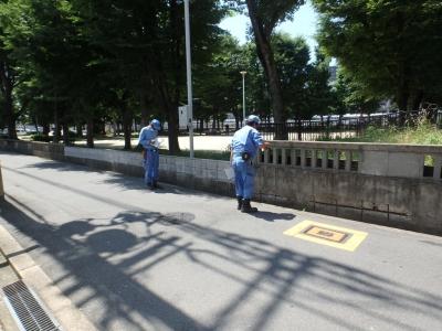 公園の安全点検1